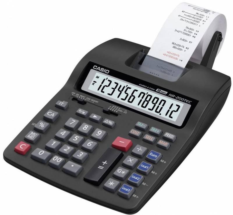 Billede af Strimmelregner Casio FR-620TEC tax&euro/12 cifre (14792)