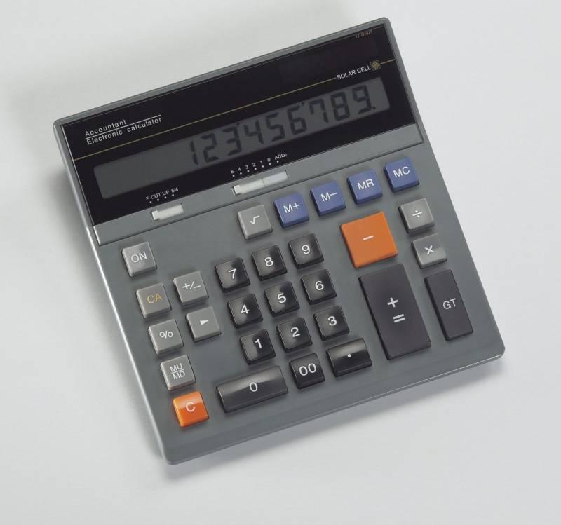 Billede af Bordregner model Revisor solar 12 cifre
