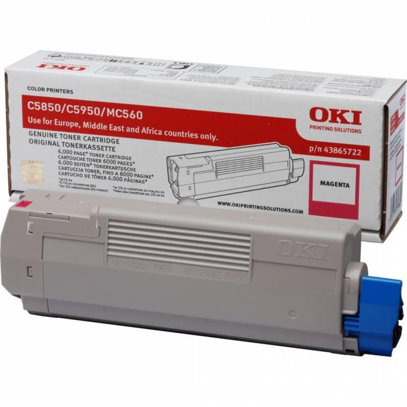 OKI Toner magenta 6000pages C5850 C5950