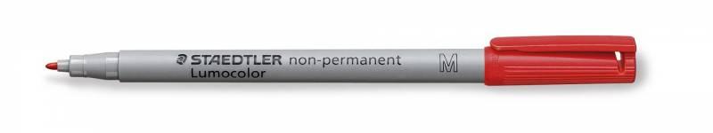 Image of   OHP-pen Lumocolor rød M 1,0mm 315-2 non-permanent