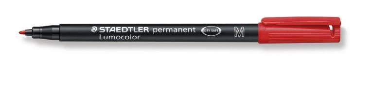 Image of   OHP-pen Lumocolor rød M 317-2 0,8-1mm permanent