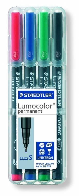 Image of   OHP-pen Lumocolor ass S 0,4mm 313WP-4 permanent
