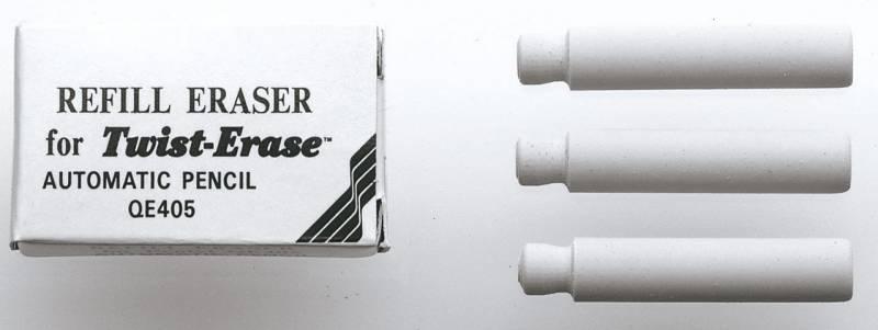 Image of   Viskelæder Pentel Twist Erase refill E10
