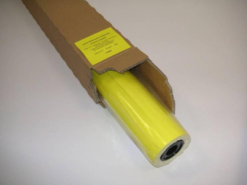 Inkjet papir Poster Y 100 500mmx45m Kerne:50mm 100g gul