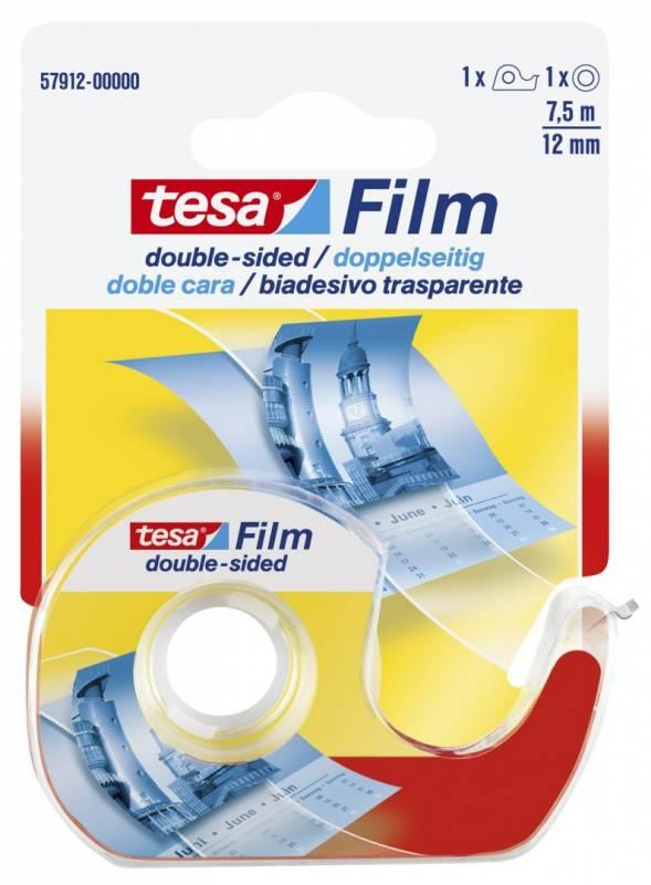 Billede af Tape tesa dobb. klæb klar 12mmx7,5m 57912
