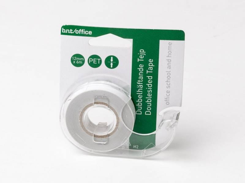 Billede af Tape dobbeltklæbende klar 12mmx6m