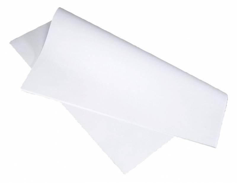 Billede af Stikdug hvid 60x60cm 90g 250stk/pak