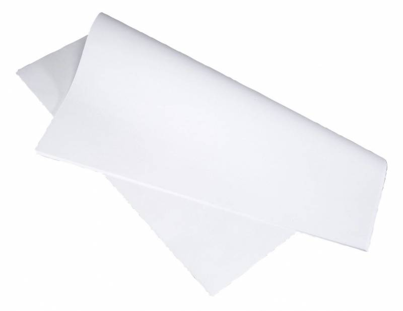 Billede af Stikdug hvid 70x70cm 90g 250stk/pak