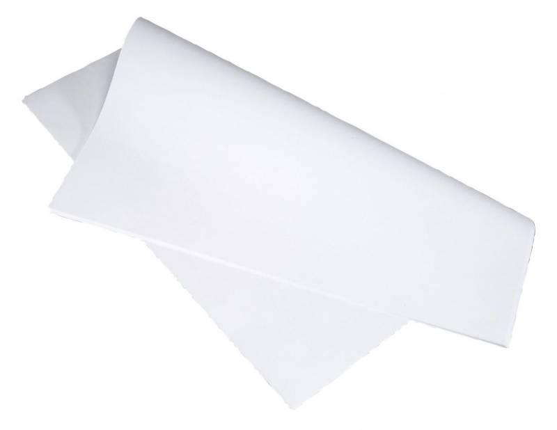 Billede af Stikdug hvid 80x80cm 90g 250stk/pak