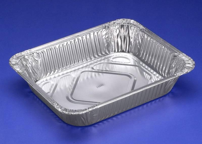 Billede af Gastro bakke 1/2GN Foodline 324x264x60mm 3600ml 100stk/pak