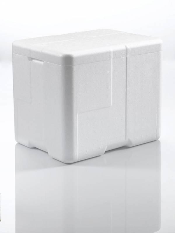 Billede af Termoskumkasse Coolsafe 3 hvid 400x300x330mm incl.låg