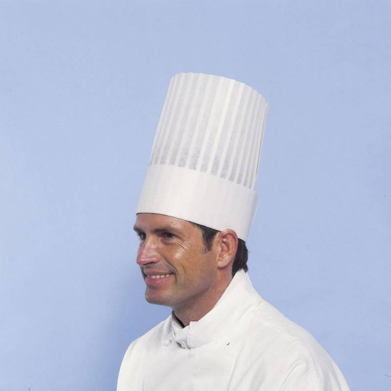 Image of   Kokkehuer Le Grand Chef Non-woven 25cm 10stk/pak