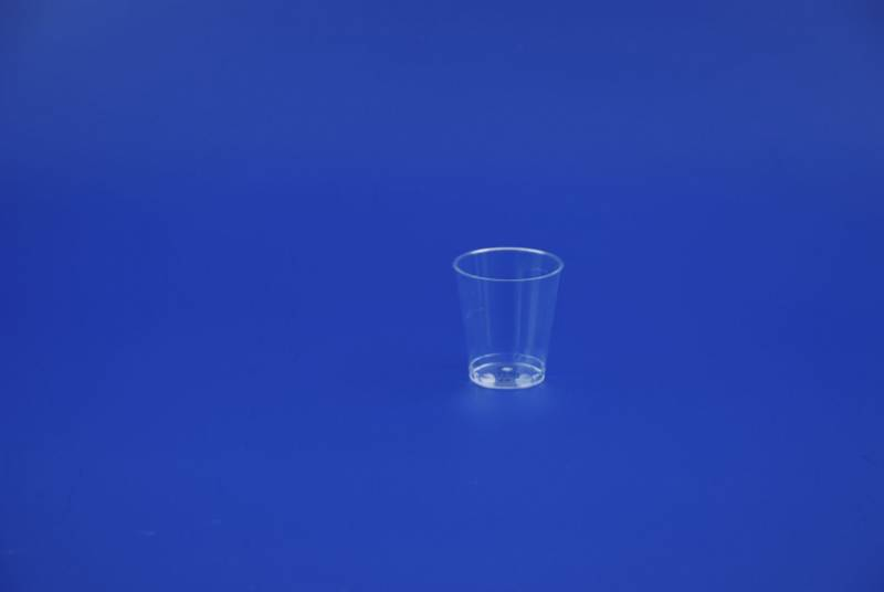 Image of   Plastikglas 5cl 1050 25stk/ps