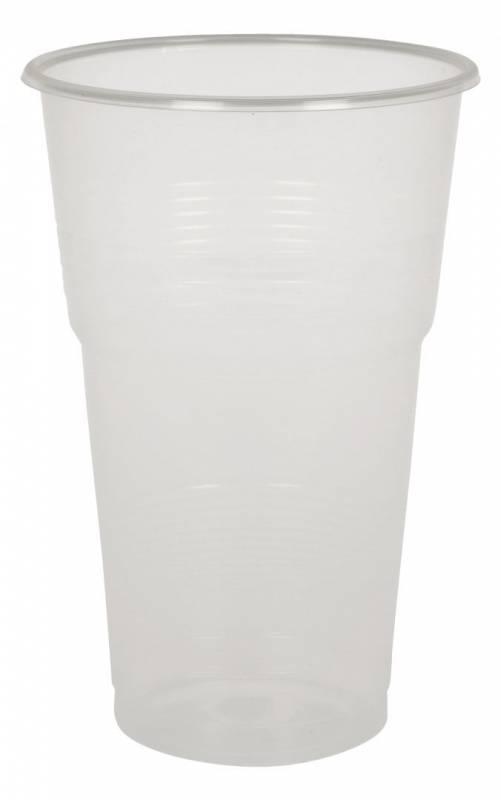 Billede af Plastikglas blød 50cl PP øko. 50stk/ps Ø95x145mm