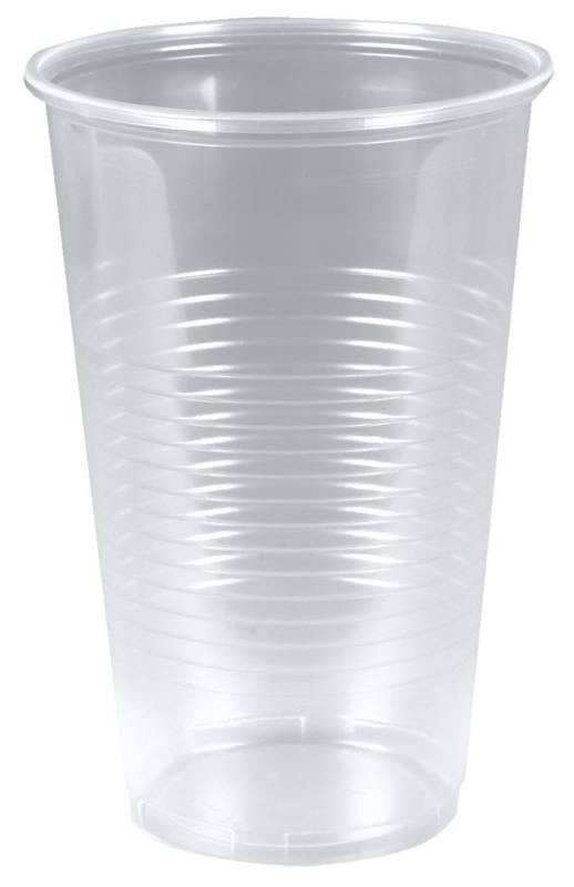 Image of   Plastikglas blød 50cl PP (øl) 50stk/ps (målestreg 0,5)