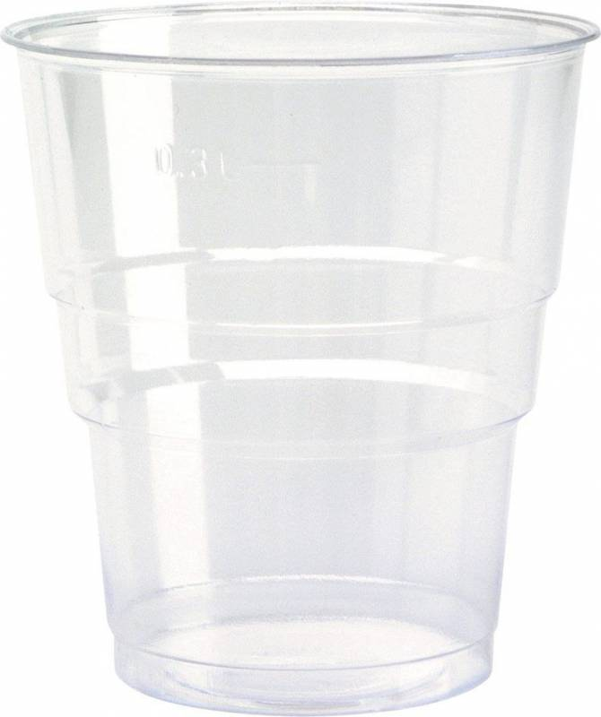 Billede af Plastglas økonomi 39cl 0,3l 50stk/ps