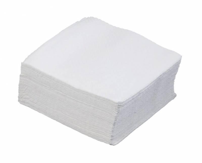 Billede af Servietter Fasana 1/4 Fold 1-la hvid 33cm 48x100st 116007