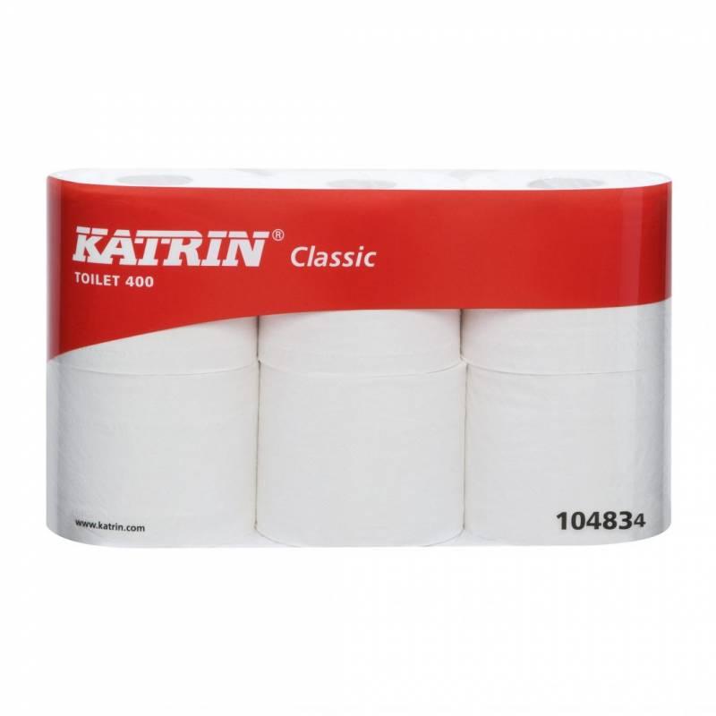 Image of   Toiletpapir Katrin Classic 400 2-lags 48m 42rul/kar 104834