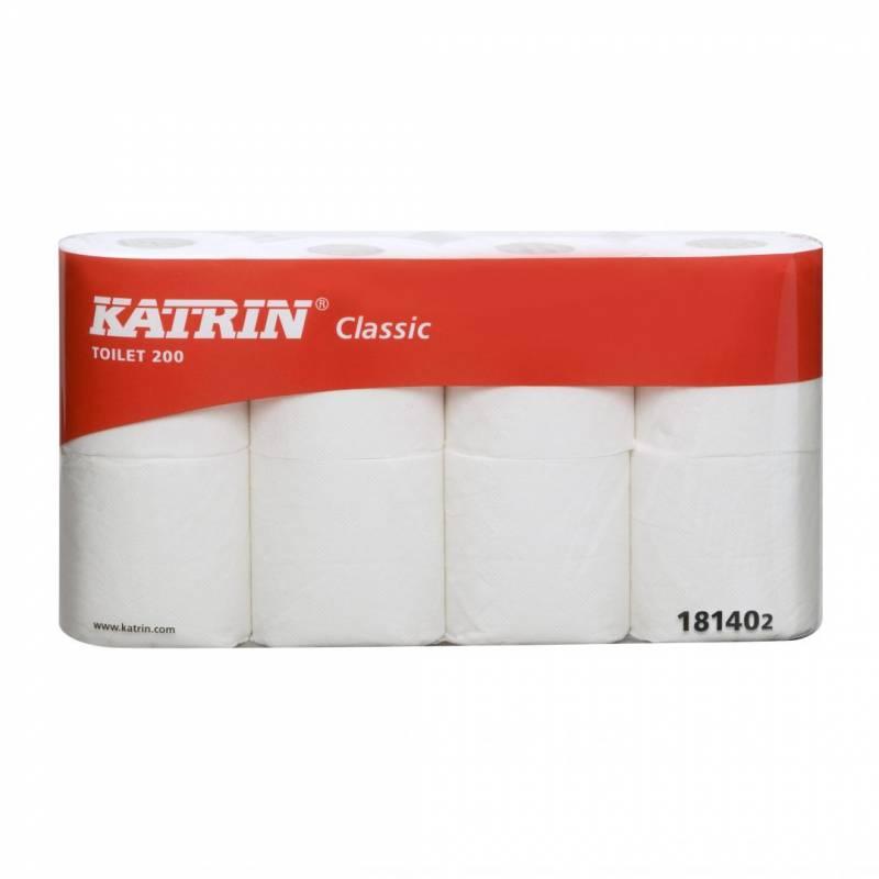 Image of   Toiletpapir Katrin Classic 200 2-lags 25 m 64rul/kar 181402