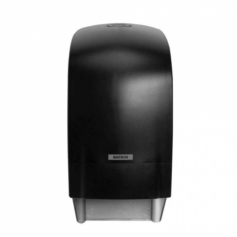Image of   Dispenser t/toiletpapir Katrin System Toilet sort 104605