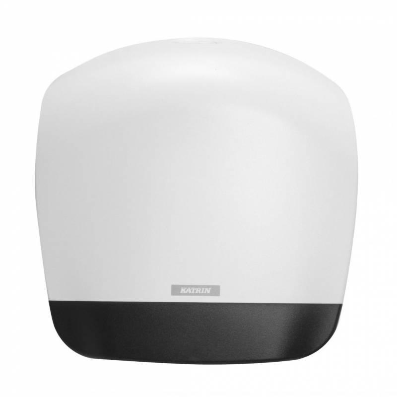 Image of   Dispenser t/toiletpapir Katrin Gigant L plast hvid 90083
