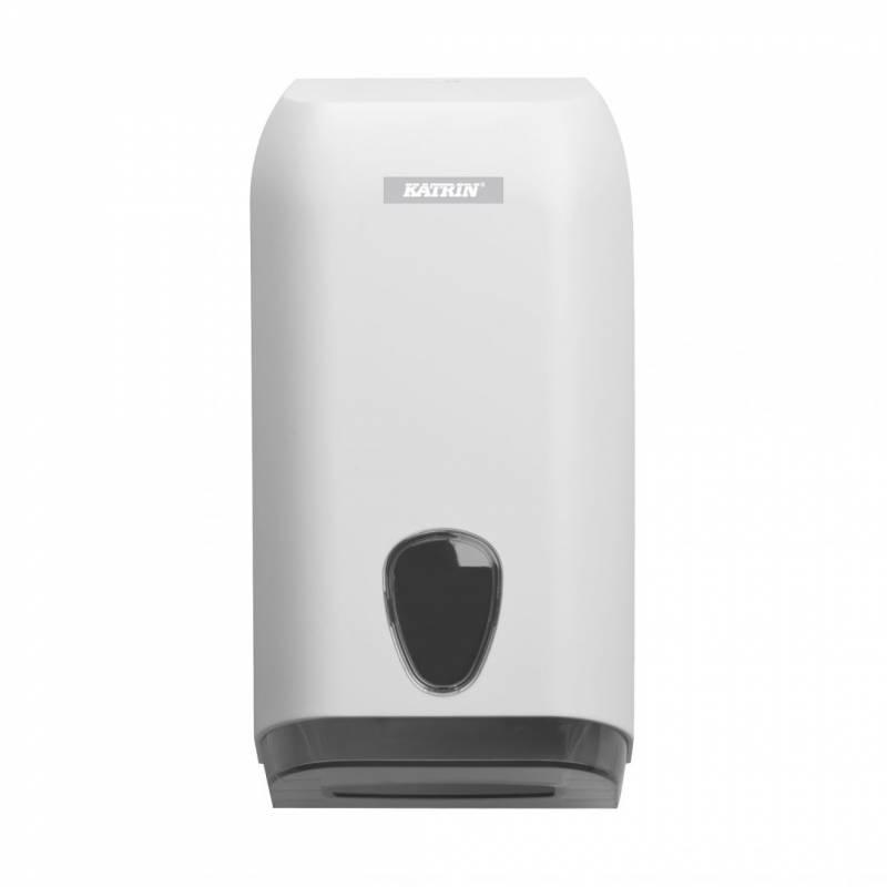 Billede af Dispenser t/toiletpapir Katrin plastik hvid 92582