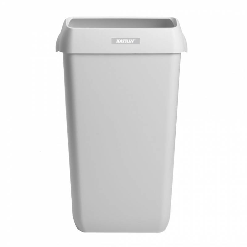 Billede af Affaldskurv Katrin Waste Bin hvid plast 25l 91899