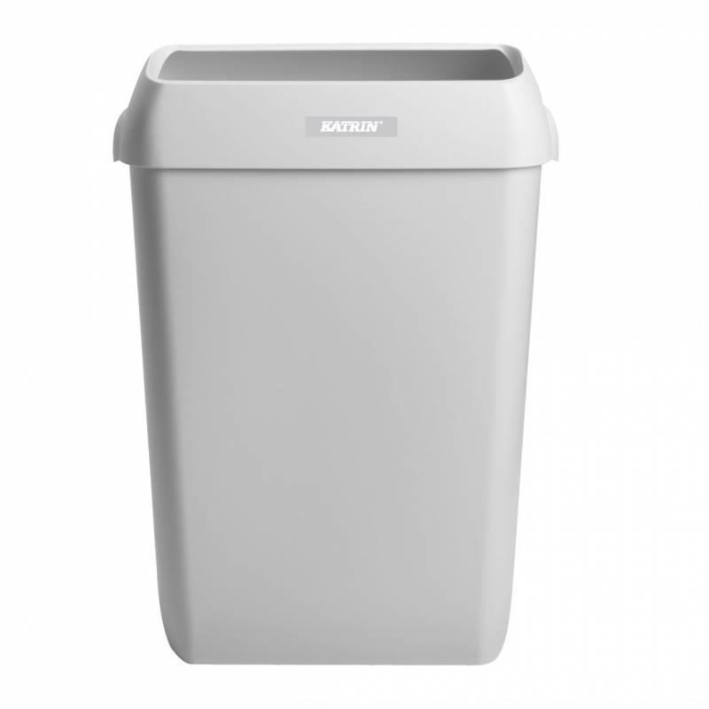 Billede af Affaldskurv Katrin Waste Bin hvid plast 50l 91912