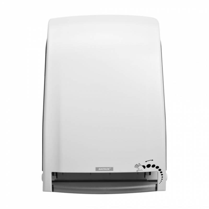 Billede af Dispenser t/aft.papir sensor Katrin EASE System hvid 91967