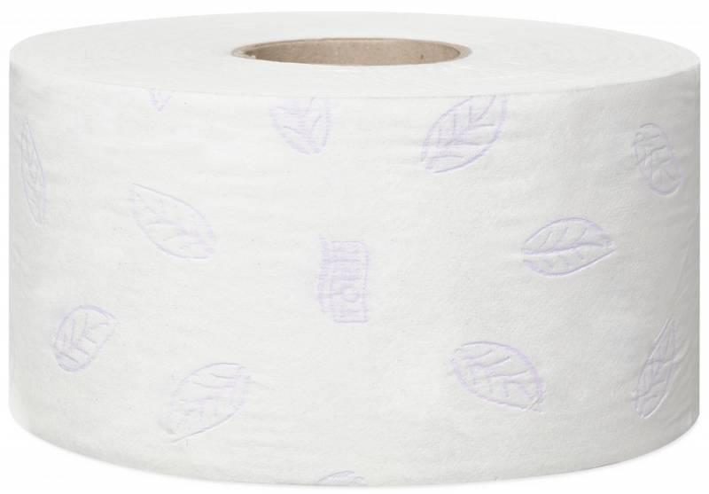 Image of   Toiletpapir Tork Jumbo Mini T2 Premium Extra Soft 3-lag 120m 110255 12rl