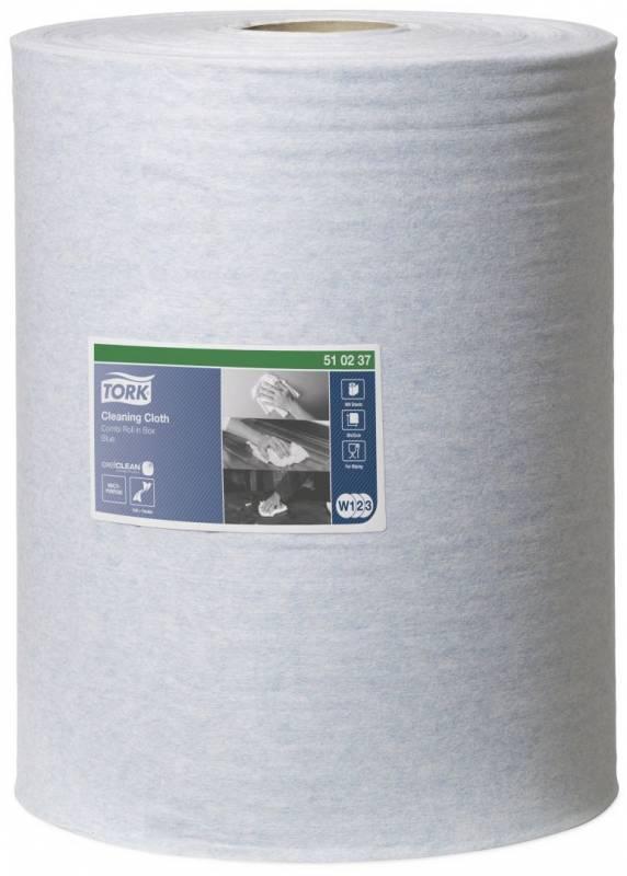 AftørringsKlud Tork W1-W2-W3 Blå 152m 400ark/rle