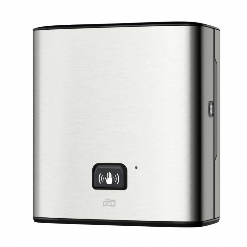 Image of   Dispenser Tork Matic Sensor H1 rustfrit stål t/papirhåndkl 460001