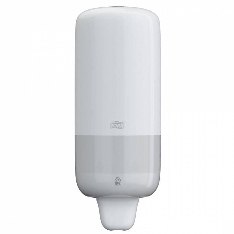 Image of   Dispenser Tork sæbe S1 hvid t/flydende sæbe 1l 560000
