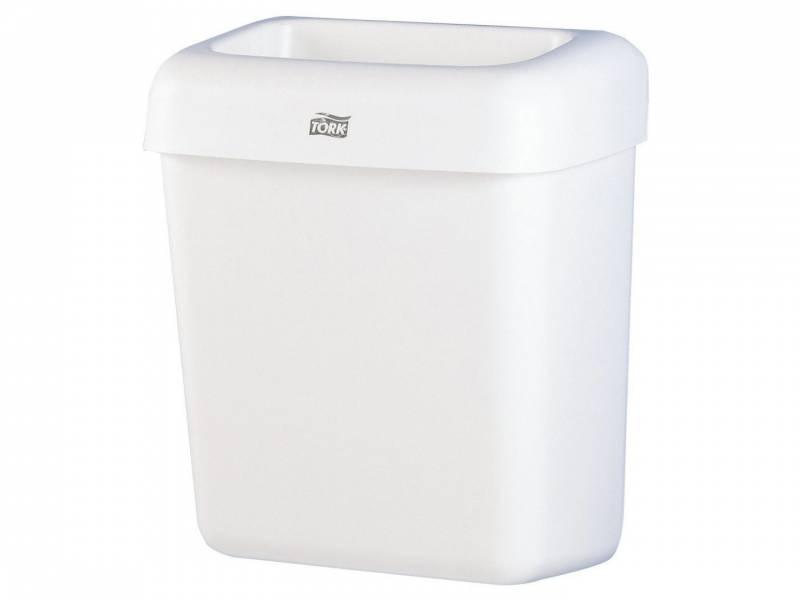 Billede af Affaldskurv Tork B2 plast hvid 20l 226100