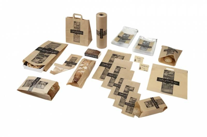 Billede af Plastikpose 250x330/50mm perf. Duften af brød rugbrød 1000stk