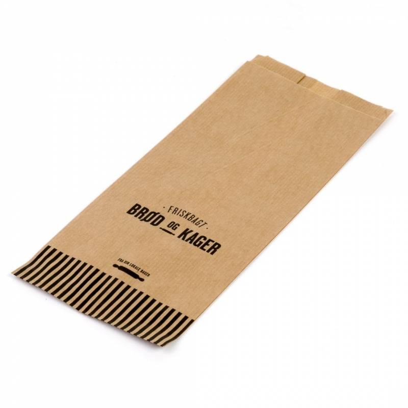 Image of   Bagerpose m/sidefals lille Friskbagt brød og kager 1000st