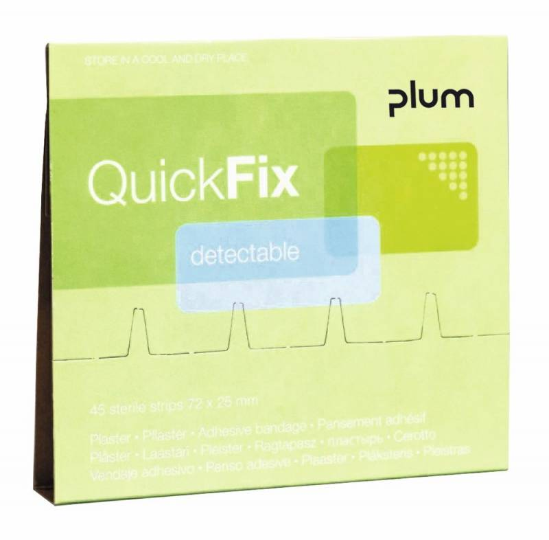 Plaster refill Detectable 45stk Quick Fix