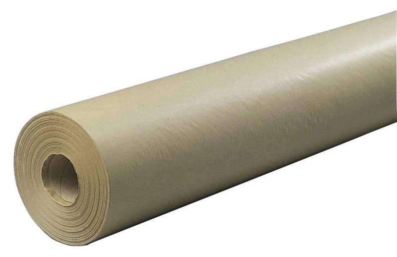 Billede af Papir kraft brun 55cmx250mx50g m/paprør 7,5kg Merfor pengene