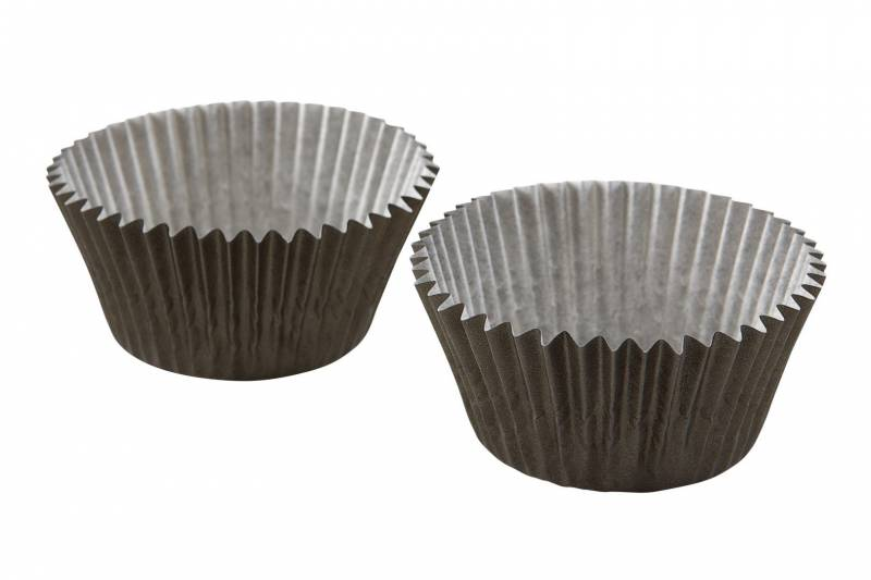 Image of   Muffinform/cup cakes sort Ø50x35mm 1000stk/pak