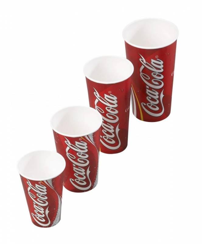 Billede af Drikkebægre Coca Cola 80c/32oz 800stk/kar (total 95cl)