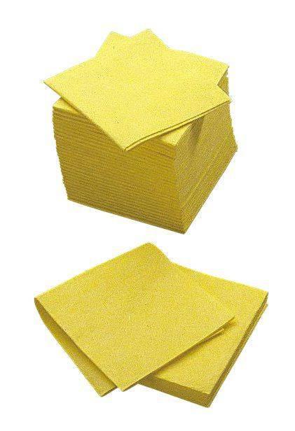 Billede af Alt-mulig-klud Cleanline gul 38x38cm 140g 200stk/pak