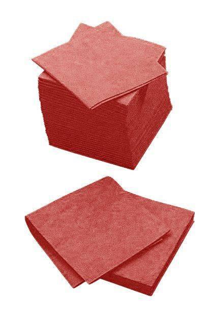 Billede af Alt-mulig-klud Cleanline rød 38x38cm 140g 200stk/pak