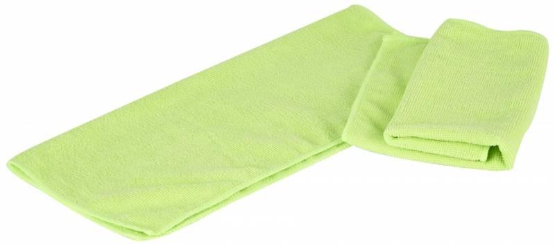 Billede af Microfiberklud Cleanline grøn 36x38cm 5stk/pak