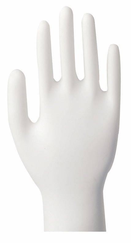 Image of   Latexhandsker Classic large hvid pudret 100stk/pak