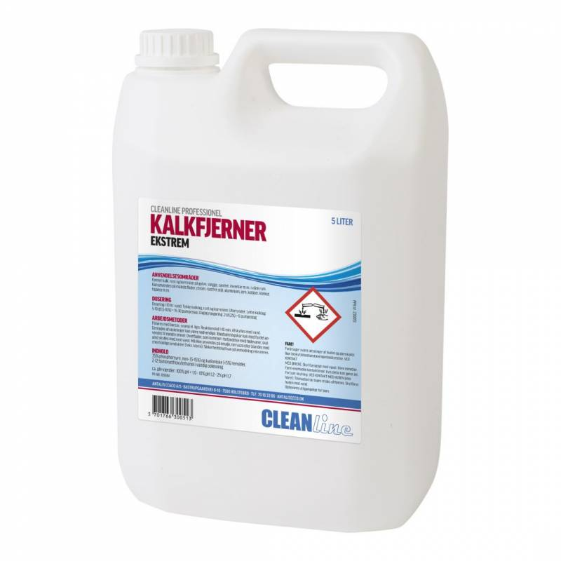 Image of   Kalkfjerner ekstrem Cleanline 5l