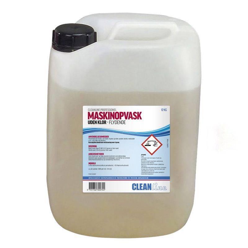 Image of   Maskinopvask u/klor Cleanline 12kg (10 L)