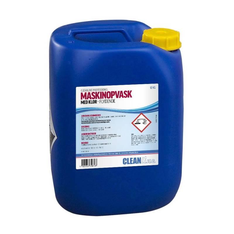 Image of   Maskinopvask m/klor Cleanline 12kg (10L)