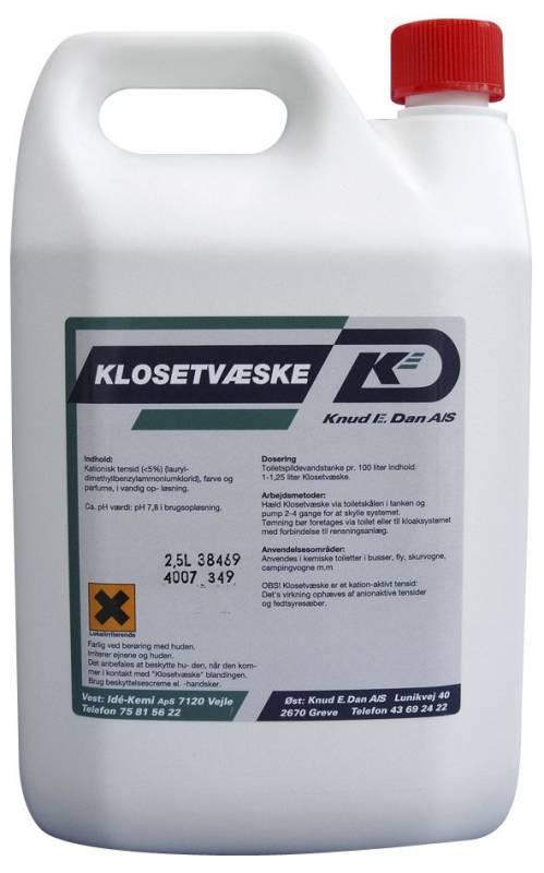 Image of   Klosetvæske 2,5l