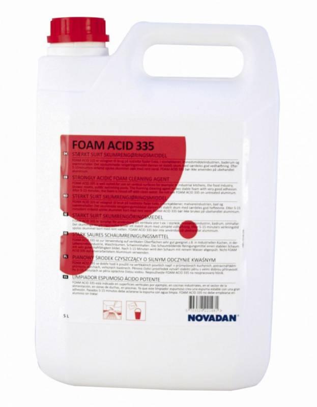 Image of   Kalkfjerner Foam Acid 335 skumrengøring 5l