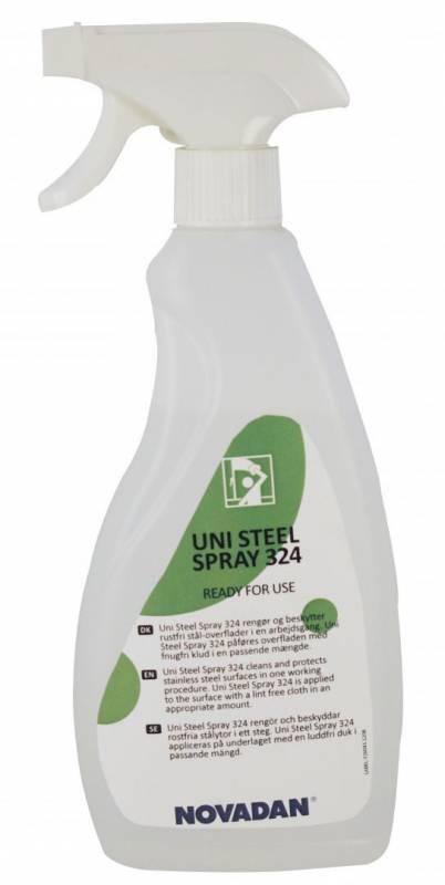 Stålpleje Uni Steel Spray 324 750ml